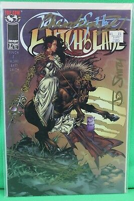 Tales of Witchblade #2 SIGNED Dynamic Forces DF Variant Comic Image Comics VF