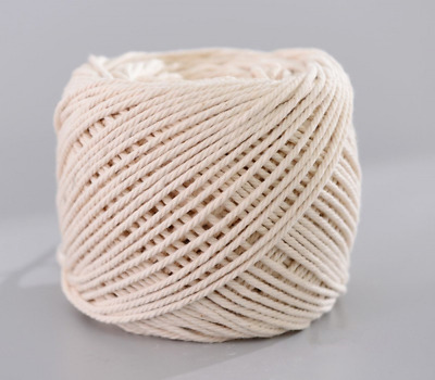 Handmade Decorations Natural Cotton Beige(3mm x 200m(about 218 yd))