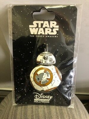 Disney DSF Droid Star Wars The Force Awakens BB-8 3D Molded Trading Pin LE 500