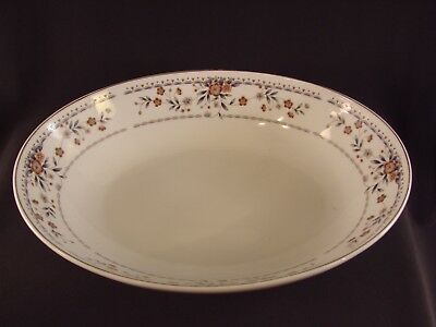 "Vintage Wade-Sone Claremont OVAL VEGETABLE BOWL 10 1/2"" Porcelain China Japan WS"