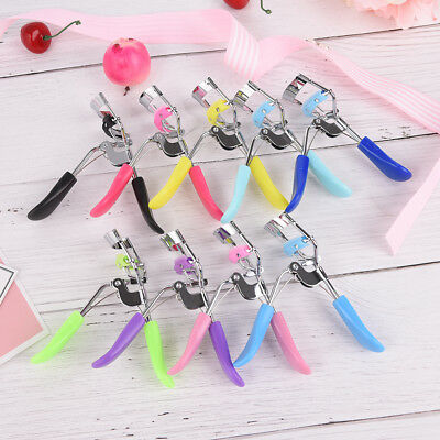 Proffessional Handle Eye Curling Eyelash Curler Clip Beauty Makeup Tool J&S