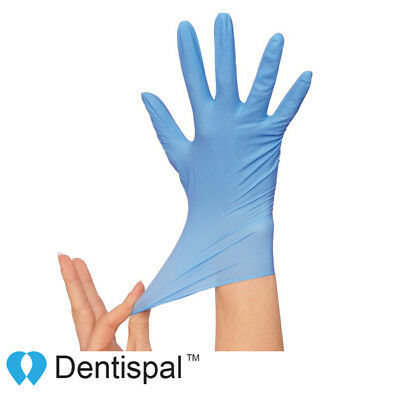 Nitrile Gloves Powder Free Strong Non-Latex for Dental Medical Tattoo XS S M L