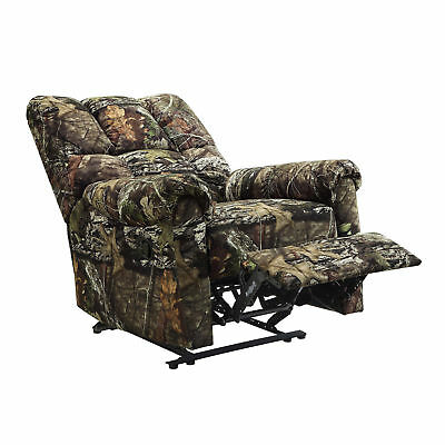 Camouflage Man Cave Cabin Furniture Camo Hunter Mossy Oak Recliner