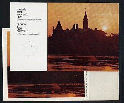 Weeda Canada VF 1971 Annual Souvenir Card #13 in original envelope CV $7.50
