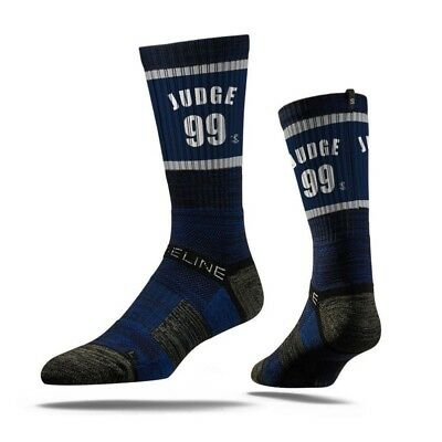 Aaron Judge New York Yankees Strideline MLB Jersey Crew Socks - Navy
