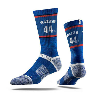Anthony Rizzo Chicago Cubs Strideline MLB Jersey Crew Socks - Blue