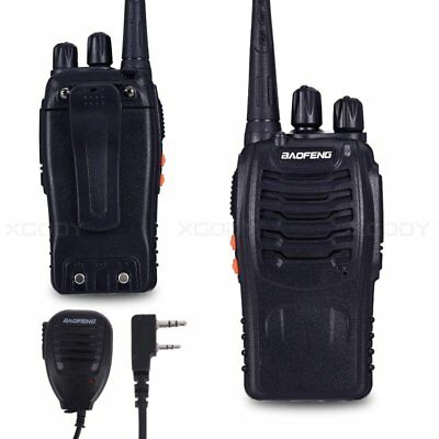 BaoFeng BF-888S UHF 400-470MHz Walkie Talkie With Microphone Two Way Radio 16CH