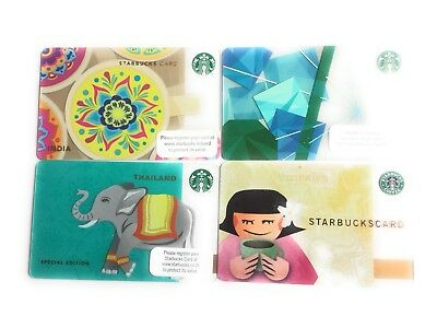 Starbucks Gift Cards Philippines, India, Thailand