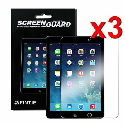 3pcs Clear Screen Protector Film for New iPad 6th Gen 9.7 inch 2018 A1893 A1954