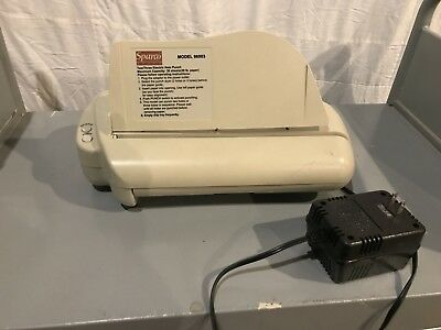 Sparco Electric Punch 3 Hole or 2 Hole Model 96003 WORKS Office Supplies