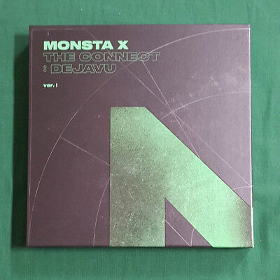 [Pre-Owned/No Photocard] Monsta X The Connect : Dejavu Ver.1 CD Booklet