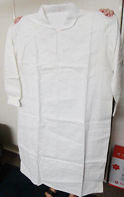 Vintage Handmade Size XXL Pure Linen Nightgown ~ Old Style ~ New Never Worn