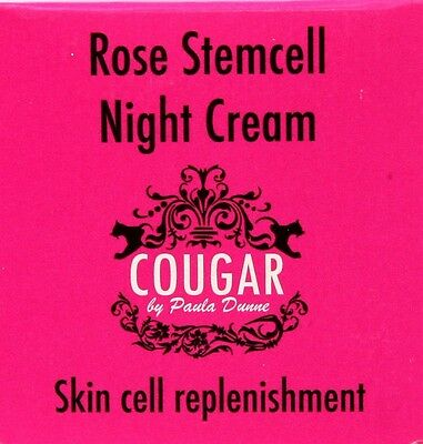 Cougar by Paula Dunne Rose Stemcell Night Cream 50ml  (MCB4)