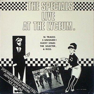 The Specials ‎– Live At The Lyceum LP
