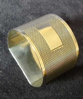 Vintage Solid Silver Napkin Ring - Viners Ltd Sheffield 1960 - 34.7g