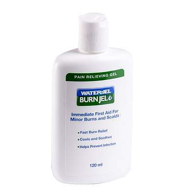 Waterjel Burn Jel 120ml - Fast first aid for minor burns and scolds -easy to use