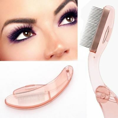 New Eyelash Extension Tool Foldable Eyelash Comb Make Up Brushes Tools Women Eye