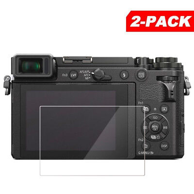 2x Tempered Glass Screen Protector for Panasonic Lumix DC-GX9 GX9 / GX7 Mark III
