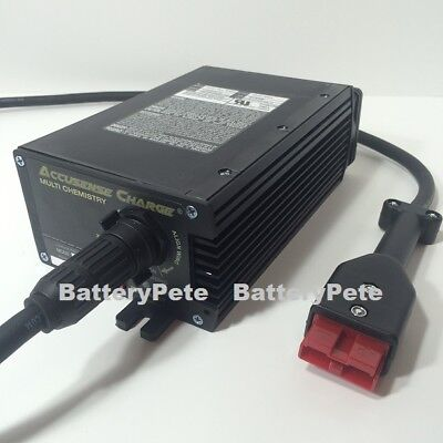 24 Volt Battery Charger 20 Amp With SB50 RED Connector Industrial AWP