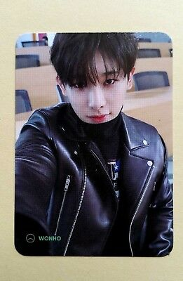 MONSTA X Mini 6th The Connect Dejavu Album Official Photocard  Type B : Wonho