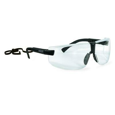 Infield Safety Exor Safety Eyewear Glasses, Available Lens Clear, Grey, Orange