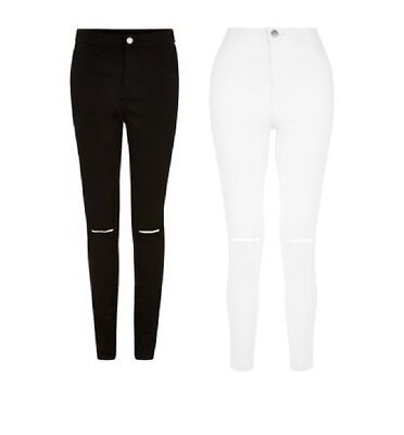 c44b18730f7005 New Look Ripped Jeans Tall High Waist Super Skinny Ripped Knee Jeans  Jeggings