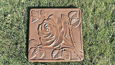 Rose Garden Concrete Stepping Stone Mold