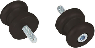 Oxford Spinners Motorcycle Paddock Stand Bobbins Black M8 w//Extension OX727S