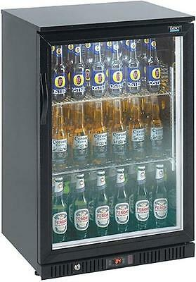 Lec BC6097KLED Glass Door EfficienC Bar Bottle Fridge in Black FA7068