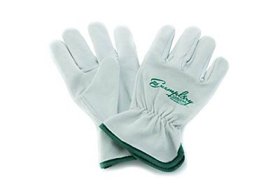 Heavy Duty Goatskin Leather Work Gloves for Men and Women. General Purpose Extra