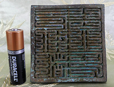 RARE XLG Yuan Dyn. Imperial Chinese Bronze Seal. Emperor Taiding Di, Translated!