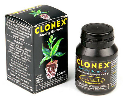 Growth Technology Clonex 50ml Rooting Propagation Hormone Gel Hydroponics