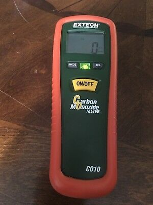 Extech Instruments CO10 C010 Industrial Carbon Monoxide Meter Barely Used