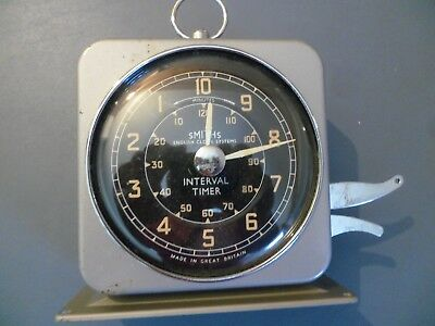 Vintage Smiths Industries Industrial Clock Interval Minute Timer I.t.2