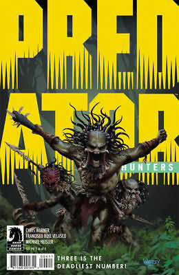 Predator : Hunters #4 Bagged & Boarded New
