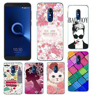 For Alcatel 3 5052D 5052Y Cell Phone Protective TPU Cover Case DIY phonecase