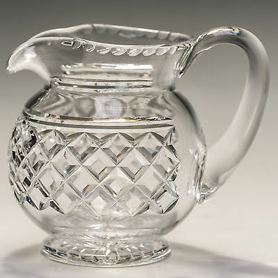 Edinburgh & Leith Vintage Crystal 40 oz Jug  Made in Scotland c1927-1939 (EDI11)