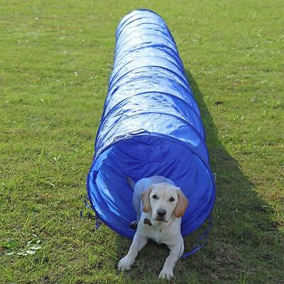 Long Pet Tunnel Funny Collapsible Outdoor Professional Dog Agility Training Tool