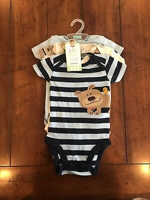 3 piece set boys one piece outfit Just one you made by Carter. 3 months