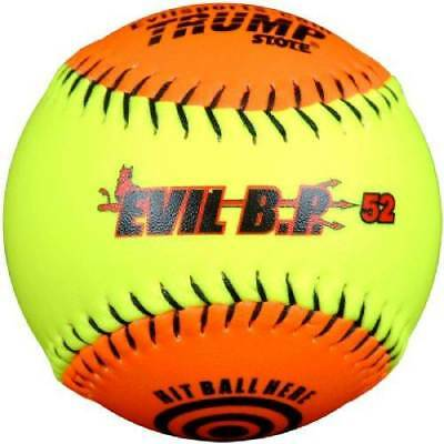 "1 Dozen Evil Bp 52 12"" Softballs - 52cor/.300 Compression (AK-EVIL-BP52) 12 Ball"