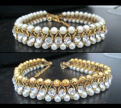Beautiful diamante Indian Bollywood ankle chain payal Anklet