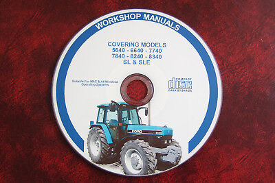 FORD 5640 6640 7740 7840 8240 8340 TRACTOR (New Holland) WORKSHOP REPAIR MANUAL