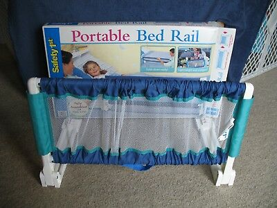 Safety 1st Portable Bed Rail Pre Owned In Original Box