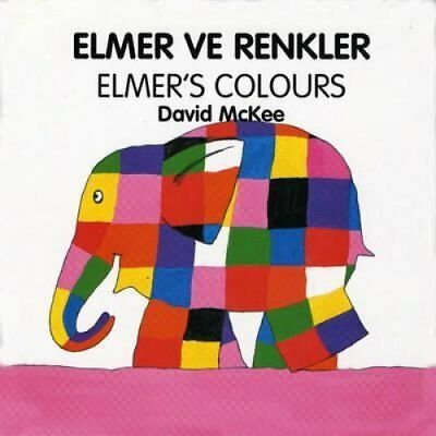 Elmer's Colours (turkish-english) by David McKee 9781840590593