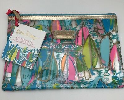 Lilly Pulitzer Pencil Pouch in Beach and Bae, New Agenda & Planner Accessory