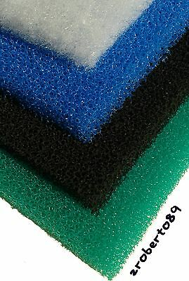 1 x Set DIY Course Aquarium Fish Tank Filter/Sponge Foam Pond 18''x12''