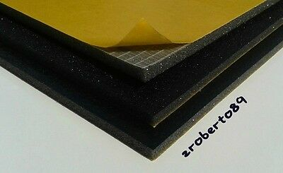 3 x Sheets Car Vehicle Soundproofing Deadening Insulation Foam 6mm