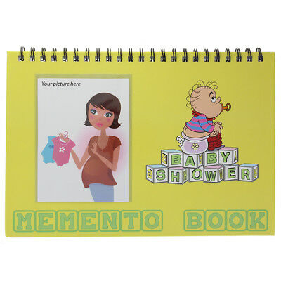 Baby Shower Memento Book For Well Wishes And Pictures