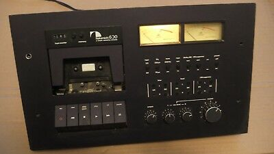 Nakamichi 600 Vintage Cassette Tape Deck Recorder As-is