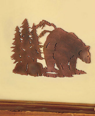 THE LAKESIDE Collection Die Cut Wildlife Wall Art Bear - $18.77 ...